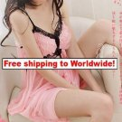 Sexy Women Lace Lingerie Nightdress 11 + Free shipping to worldwide!