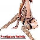 Sexy Lingerie Leopard Underwear Garter Teddy Dress 6 PCS + Free shipping to worldwide!