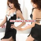 Backless Flower Lingerie Nightdress + Free shipping to worldwide!