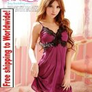 Sexy Lace Long NightDress Lingerie 19 + Free shipping to worldwide!