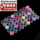 45 Color Acrylic Powder 3D Nail Art TT + Free shipping to worldwide!
