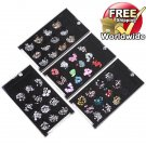 Nail Art Fimo  Glitter Rhinestone Aluminum Slice Set Kit TT + Free shipping to worldwide!