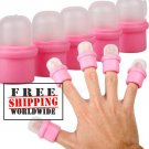10pcs Wearable Nail Soak Cap tmH01167 + Free shipping to worldwide!