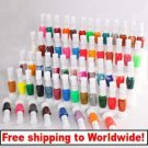 60 Colors 2-way Nail Art Polish Varnish Paint with Brush tm0004445 +Free shipping to worldwide!