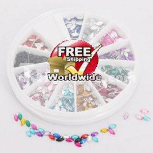 Nail Art Rhinestones tm0004227 + Free shipping to worldwide!