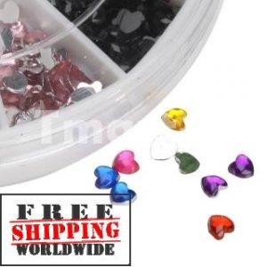 Heart Nail Art Rhinestones tm10004225+ Free shipping to worldwide!