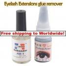 Eyelash Extension Black Glue + Glue Remover BC + Free shipping to worldwide!