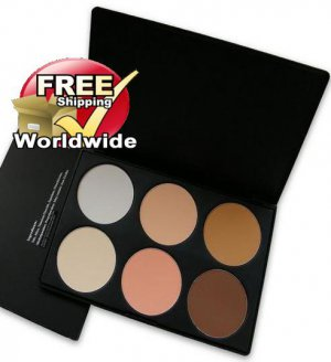 1 x 6 Color Blusher Palette 1 BC + Free shipping to worldwide!