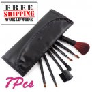 7 PCS Makeup Brush Set With Case BC + Free shipping to worldwide!