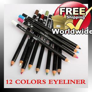 12 Color Cosmetics Eyeliner Pencil BC + Free shipping to worldwide!