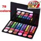 1 x 78 Color Eyeshadow Set 3+ Free shipping to worldwide!