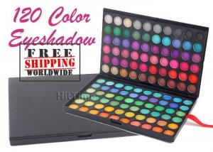 120 Full Color Palette Fashion Eye Shadow BC+ Free shipping to worldwide!