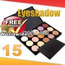 1 x 15 color eyeshadow set BC+ Free shipping to worldwide!