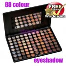 Makeup Warm Pro 88 Full Color Eyeshadow Palette BC+ Free shipping to worldwide!