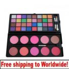32 color eyeshadow +10 blusher powder BC + Free shipping to worldwide!