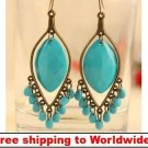 Earrings Fashion Bohemia Style Water Droplets Bead + Free shipping to worldwide!