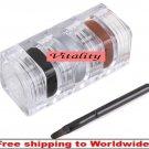 3 Color Waterproof Eyeliner Eye Liner Gel Set + Brush BC+ Free shipping to worldwide!