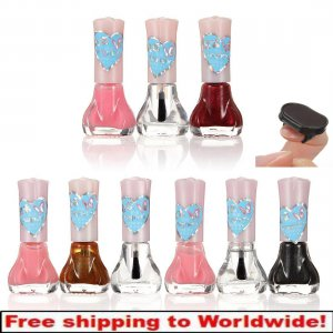 3D Magical Magnetic Nail Polish Slice Set Kit 5ml BG + Free shipping to worldwide!
