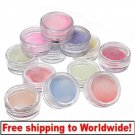 12 Color Glitter Nail Art Crystal Dust Powder Decoration BG+ Free shipping to worldwide!