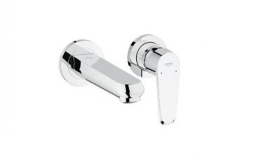 GROHE Eurodisc C 19573002 Bathroom Sink Tap Wall 2 Hole basin mixer