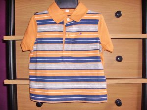 CW19: 6-12mos Tommy Hilfiger Collared Tee
