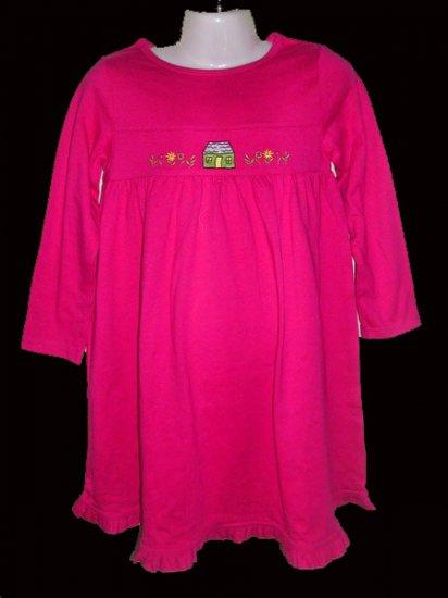 CW126: 6-7T J Khaki Kids L/Sleeve Dress