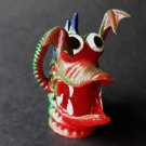 Monster finger puppet soft rubber retro Gigantor jiggler weird creature NEW! a