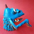 Monster finger puppet soft rubber retro Gigantor jiggler weird creature NEW! d