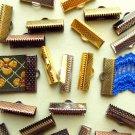 16-25mm 144 pcs. Ribbon Clamps Ribbon Crimp Ends Shipped from USA -- Wholesale