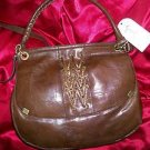 Jessica Simpson Walnut Brown Smash Hit   Handbag