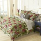 HAVANA JACK'S CAFE ISLAND OUTFITTERS COZUMEL 4 PC FULL BEDDING SET  NIP