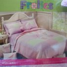 FROLICS CHILDRENS COLLECTION PRINCESS & BUTTERFLY 5 PC TWIN  BED SET NIP