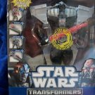HASBRO STAR WARS TRANSFORMERS DARTH VADER to STAR DESTROYER 4 MODES in 1  NIB