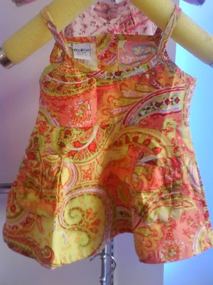 Cute spegetti dress by Oshkosh- Brand new with tag (KS018)