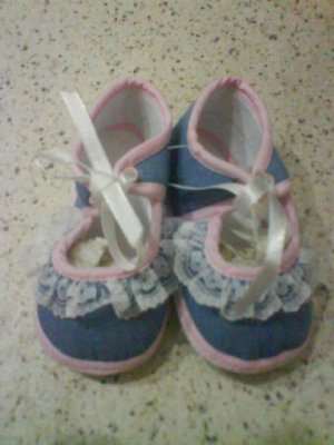 Brand new- Cute soft shoe for baby girl (KS005bs)