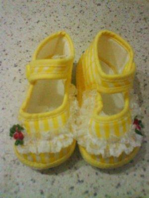 Brand new- Cute soft shoe for baby girl (KS006bs)