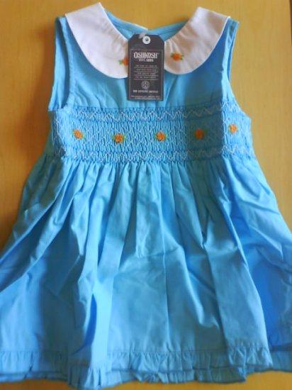 Brand New - Oshkosh blue sea dress (KS005GI)