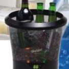 UZO1™ PORTABLE ILLUMINATED / LIGHTED BEVERAGE COOLING BUCKET (ELECTRIC AND BATTERY USAGE)