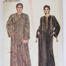 VTG 1980s UNISEX Mens or Misses' Caftan Sewing Pattern Easy Vogue 8474 All Sizes XS S M L XL UNCUT