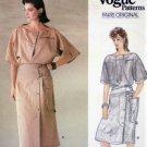 Vogue 1174 MONTANA Paris Original 1980s Designer Sewing Pattern Top & Skirt Misses Size 12 Bust 34