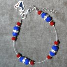 Houston  Texans  Anklet