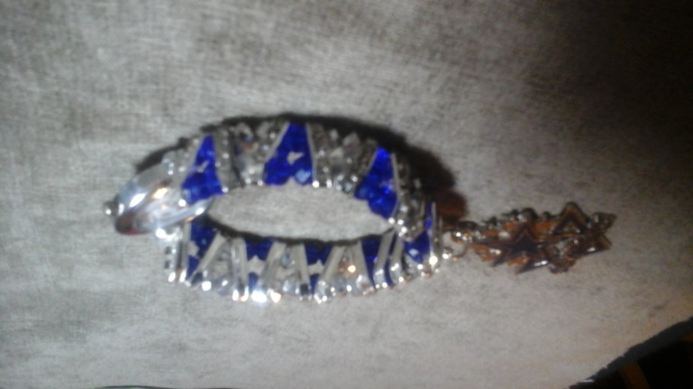 Dallas  Cowboys  Crystal  Serenity  Bracelet