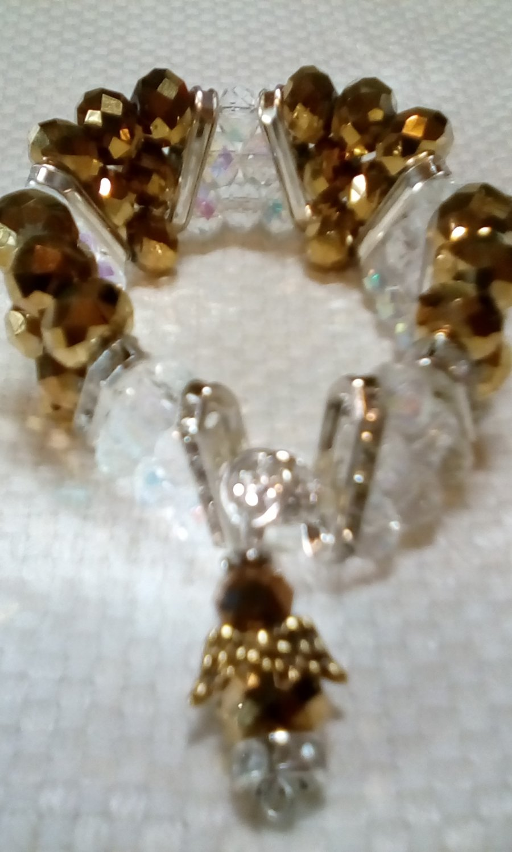 Goldtone Serinity Bracelet