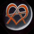 Luvarchy  pinback button badge 1.25""