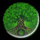 CELTIC TREE OF LIFE pinback button badge 1.25""