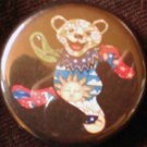 1 GRATEFUL DEAD BEAR #3 pinback button badge 1.25""