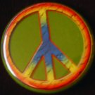1 PEACE SIGN #1 pinback button badge 1.25""