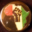 1 RASTA AFRIKA pinback button badge 1.25""