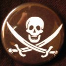 1 PIRATE #2 pinback button badge 1.25""