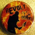 "REVOLT! #2 pinback button badge 1.25"""